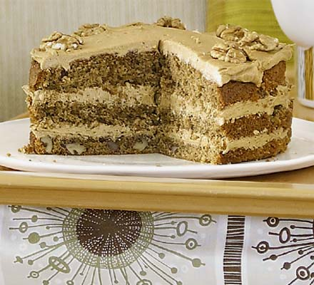 Walnut cake photo 1