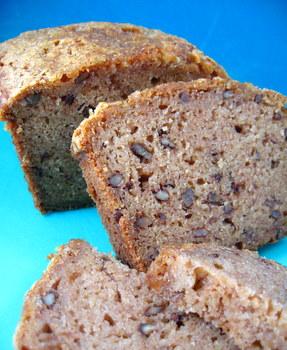 Applesauce nut bread photo 2