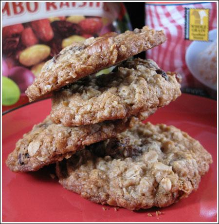 Jumbo raisin cookies photo 2