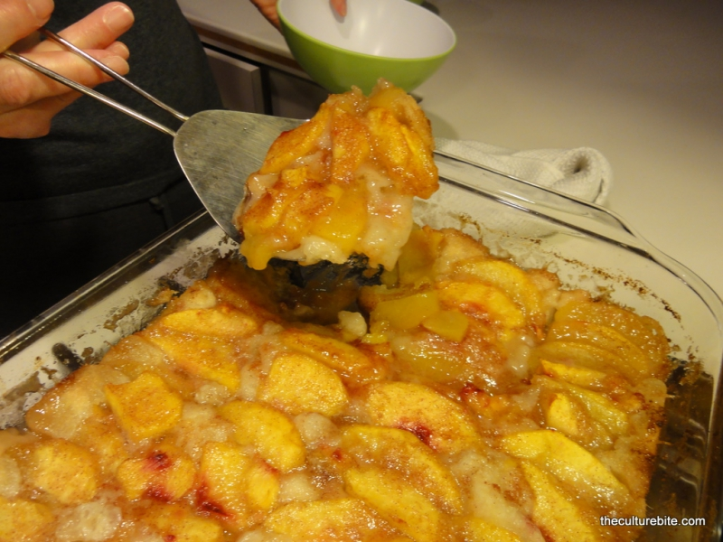 Peach cobbler photo 2