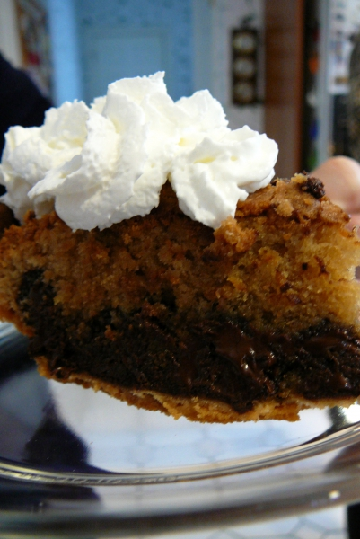 Toll house cookie pie photo 3