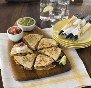 Vegetable quesadillas photo 2