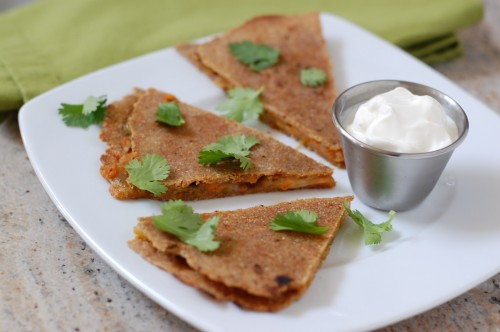 Vegetable quesadillas photo 3