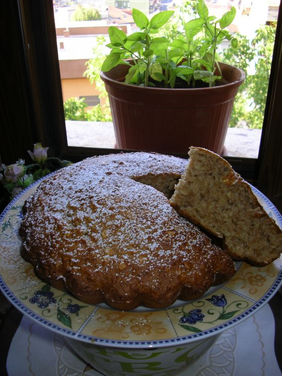 Applesauce cake(fruit cake) photo 1