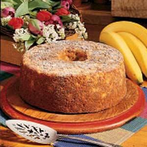 Banana nut cake photo 1