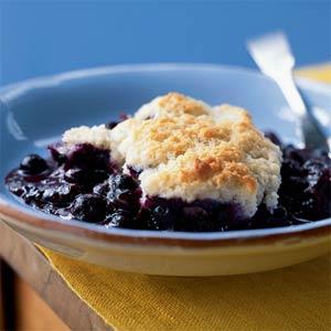 Blueberry cobbler photo 1