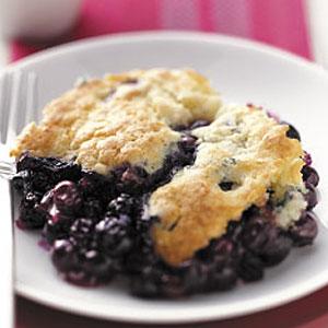 Blueberry cobbler photo 2