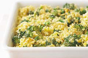 Broccoli and cheese photo 1