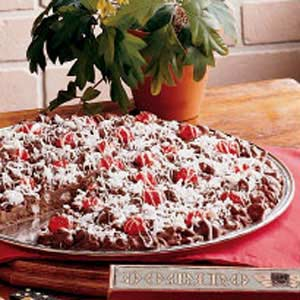 Chocolate pizza photo 2