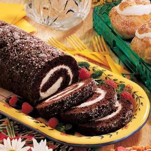 Chocolate roll photo 2