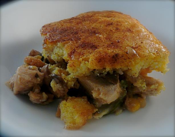 Corn bread pie photo 1