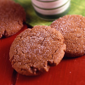 Old-fashioned molasses cookies photo 1