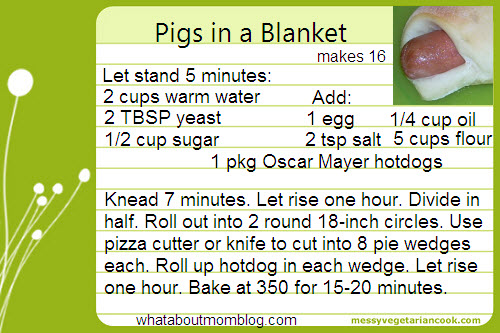 Pigs in a blanket photo 1
