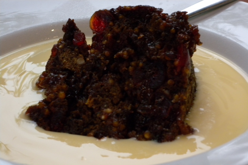 Plum pudding photo 2