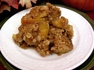 Pumpkin crisp photo 2