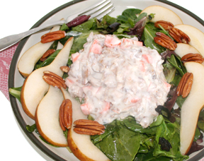 Strawberry and pecan salad photo 1