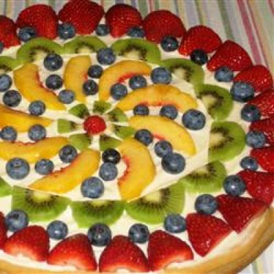 Fruit pizza photo 3
