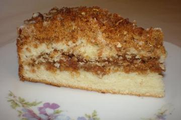 Graham streusel cake photo 1