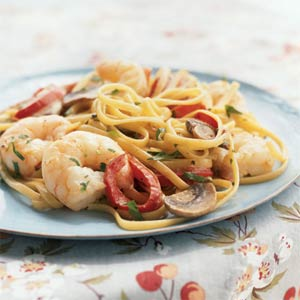 Shrimp linguine photo 2