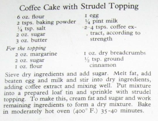 Coffee cake photo 2