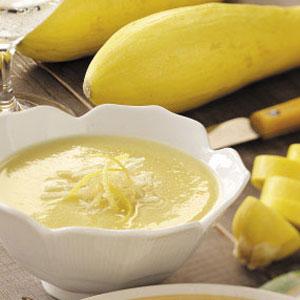 Yellow squash soup photo 1