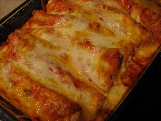 Cheese 'n chicken enchiladas photo 1
