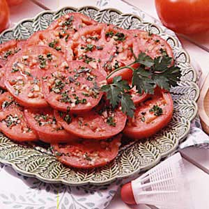 Marinated tomatoes photo 1