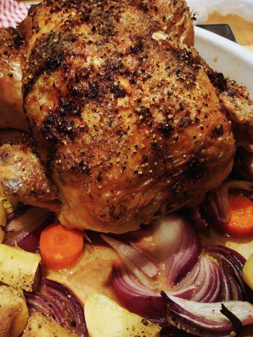 Roasted chicken photo 3