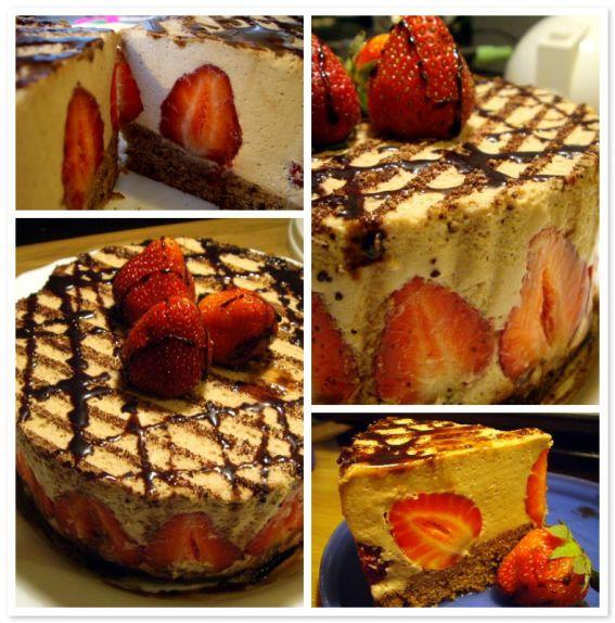 Chocolate mousse cake photo 1