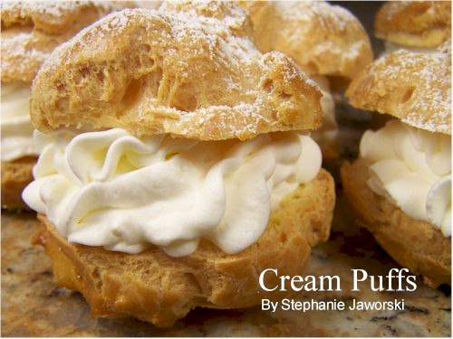 Cream puffs photo 3