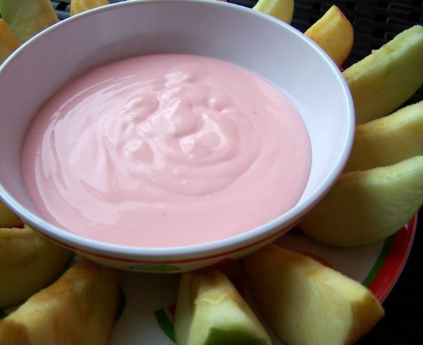 Fresh fruit dip photo 2
