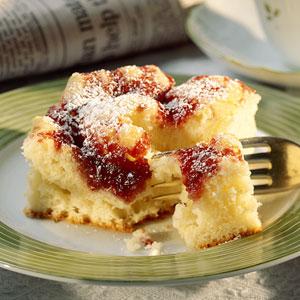 Raspberry cream cheese coffee cake photo 2