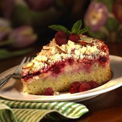 Raspberry cream cheese coffee cake photo 3