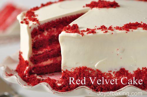 Red cake photo 3