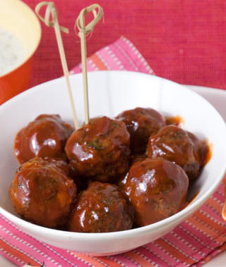 Barbecue meatballs photo 2