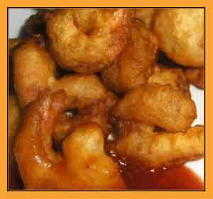 Beer batter shrimp photo 1