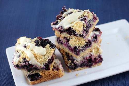 Blueberry crumb bars photo 2