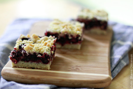 Blueberry crumb bars photo 3