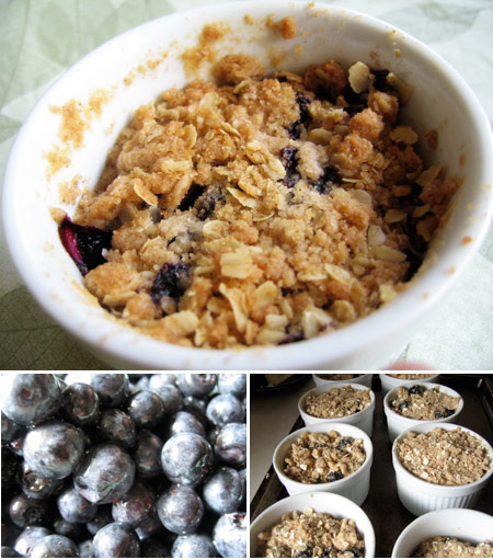 Blueberry crumble photo 1