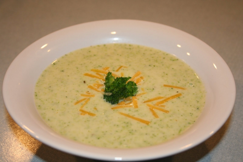 Broccoli and cheese soup photo 3
