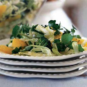Broccoli orange salad photo 2