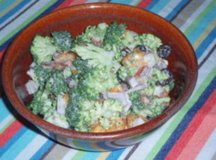 Broccoli orange salad photo 3