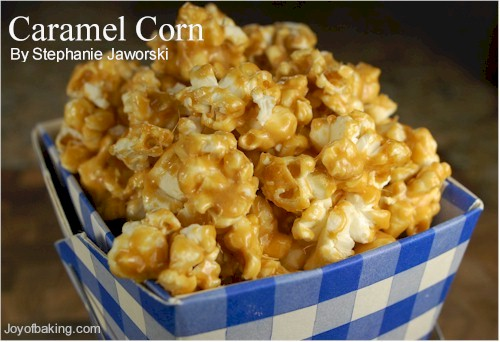 Caramel corn photo 1