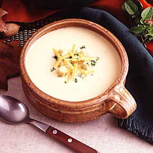 Cheese soup photo 3