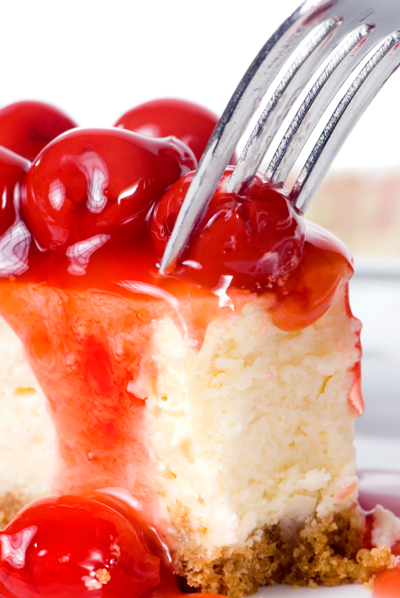 Cherry cheesecake photo 1