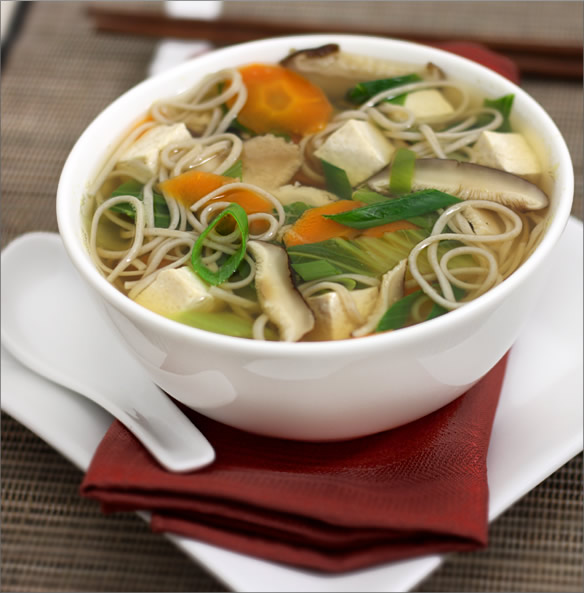 Chicken noodle soup photo 3