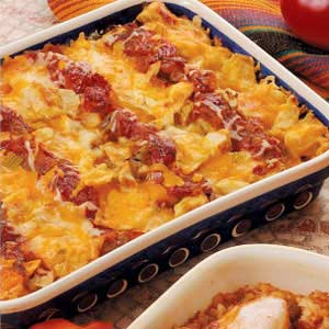 Chicken tortilla casserole photo 1