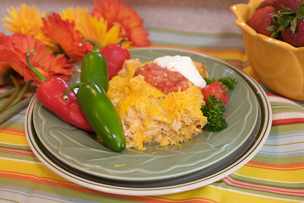 Chicken tortilla casserole photo 2