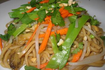 Chinese noodle salad photo 2