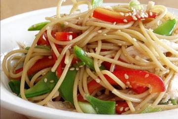 Chinese noodle salad photo 1